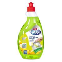 Dr MAX Жидкость для мытья посуды концентр. Лимонная свежесть 500мл/уп16
