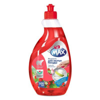 Dr MAX Жидкость для мытья посуды концентр. Таёжная земляника 500мл/уп16