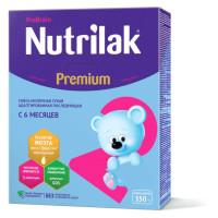 НУТРИЛАК   Premium2+( 6-12мес) м/с с преб. и нукл. 350г /уп12