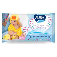 Салфетки влажные для детей Ultra сomfort 15шт/уп36