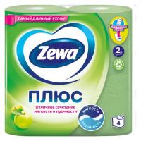 Бумага туалетная 2-х сл Яблоко  4шт /уп24
