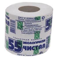 Туалетная бумага 55 со втулкой/уп40